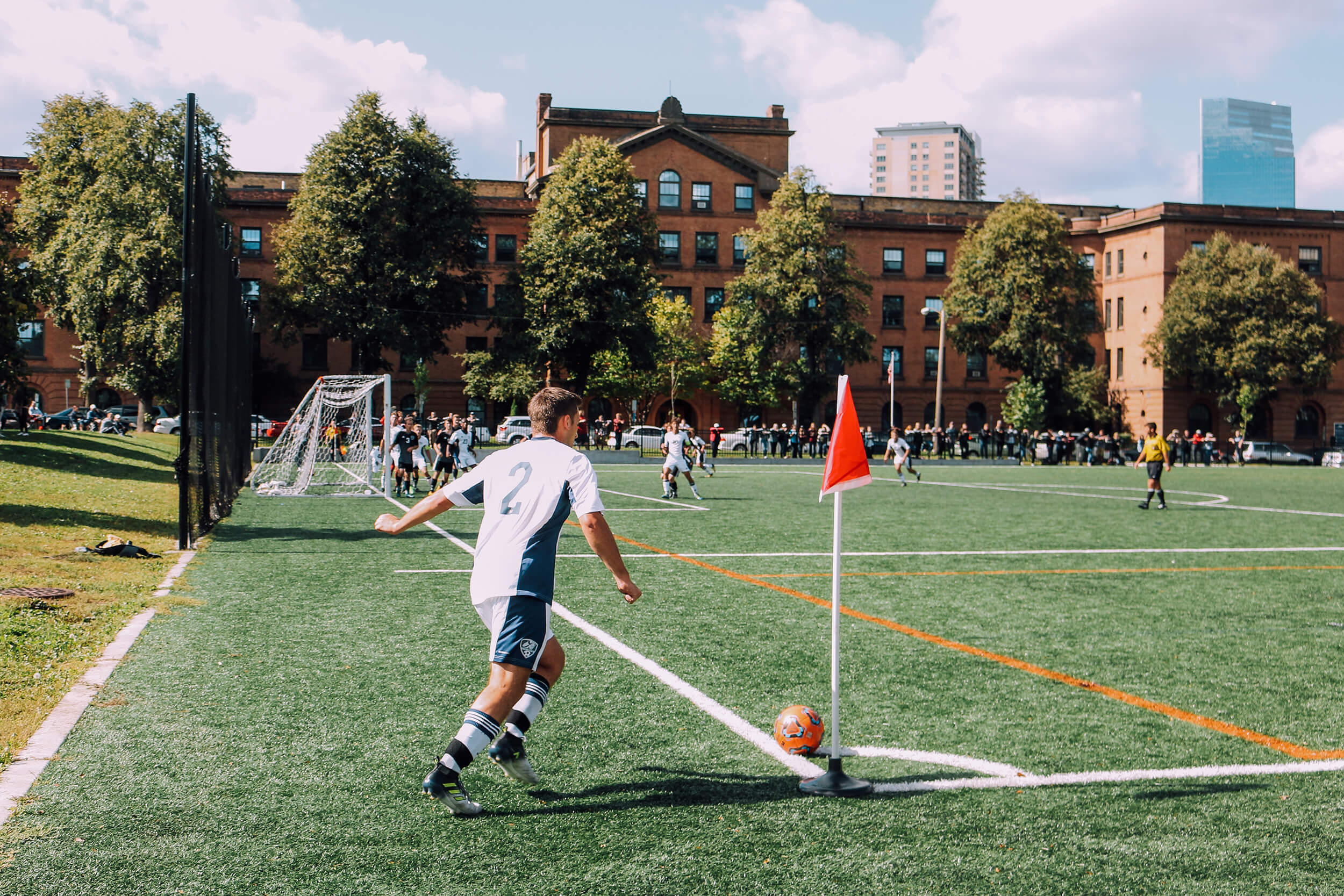 Corner Football Game